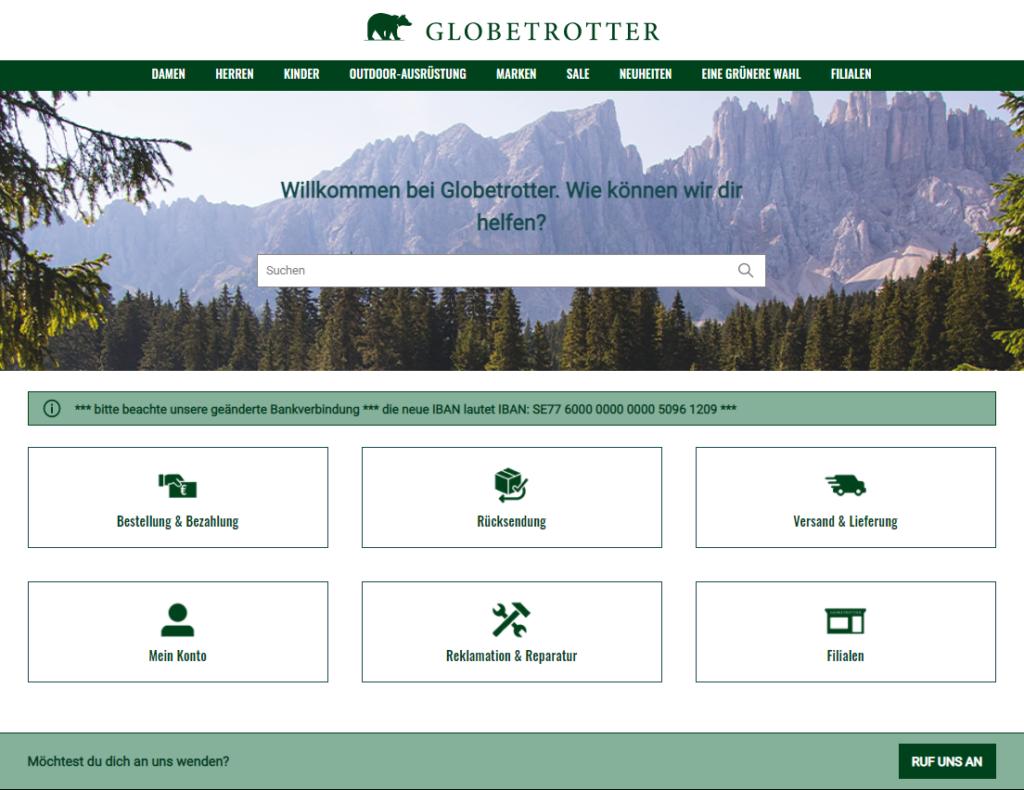 project steps globetrotter